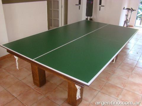 Fotos de mesa de pool c tapa de ping pong living en mar for Mesa de ping pong milanuncios