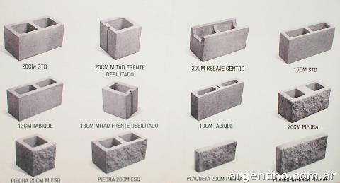 Mi casa decoracion precio de bloques de hormigon for Bloques de hormigon medidas