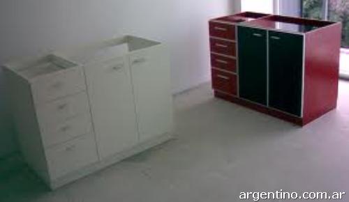 Fotos de muebles de cocina en melamina en pilar for Muebles de cocina zona pilar