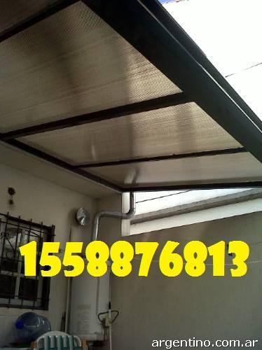 Fotos de techos de policarbonato zona oeste techos de for Techos de policarbonato para garage
